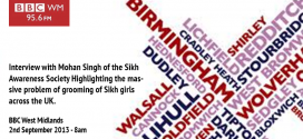 Interview with Mohan Singh of the Sikh Awareness Society on BBC Radio WM